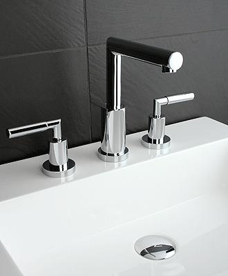 Robinet de lavabo salle de bain Rubi billie avec poignees