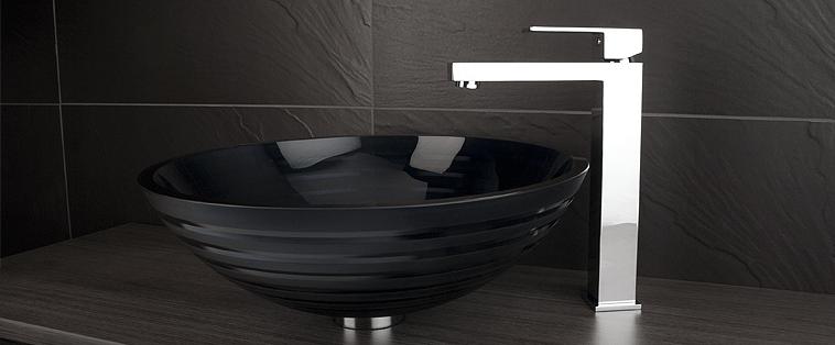 Robinet lavabo salle de bain Rubi Quatro surélevé