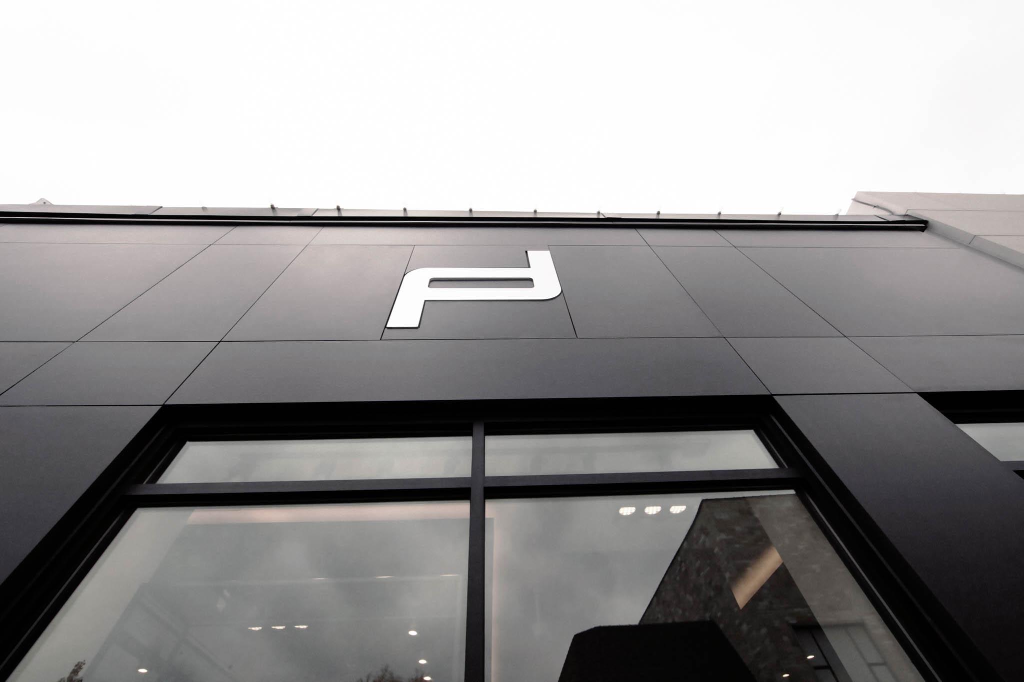 Dekton facade ventilee noir montreal commerce