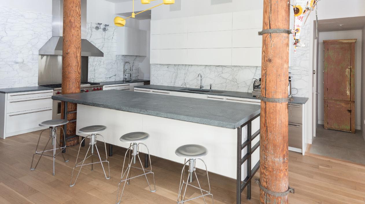 Cuisine Fermée En U soapstone countertops | soapstone montreal | granite au sommet