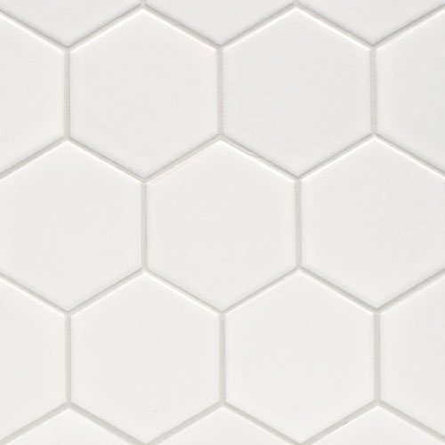 Hex & Dac, Mos. Hex 100mm White Matt