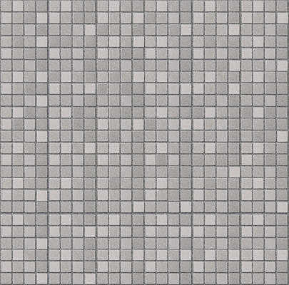 CR, light grey mosaico