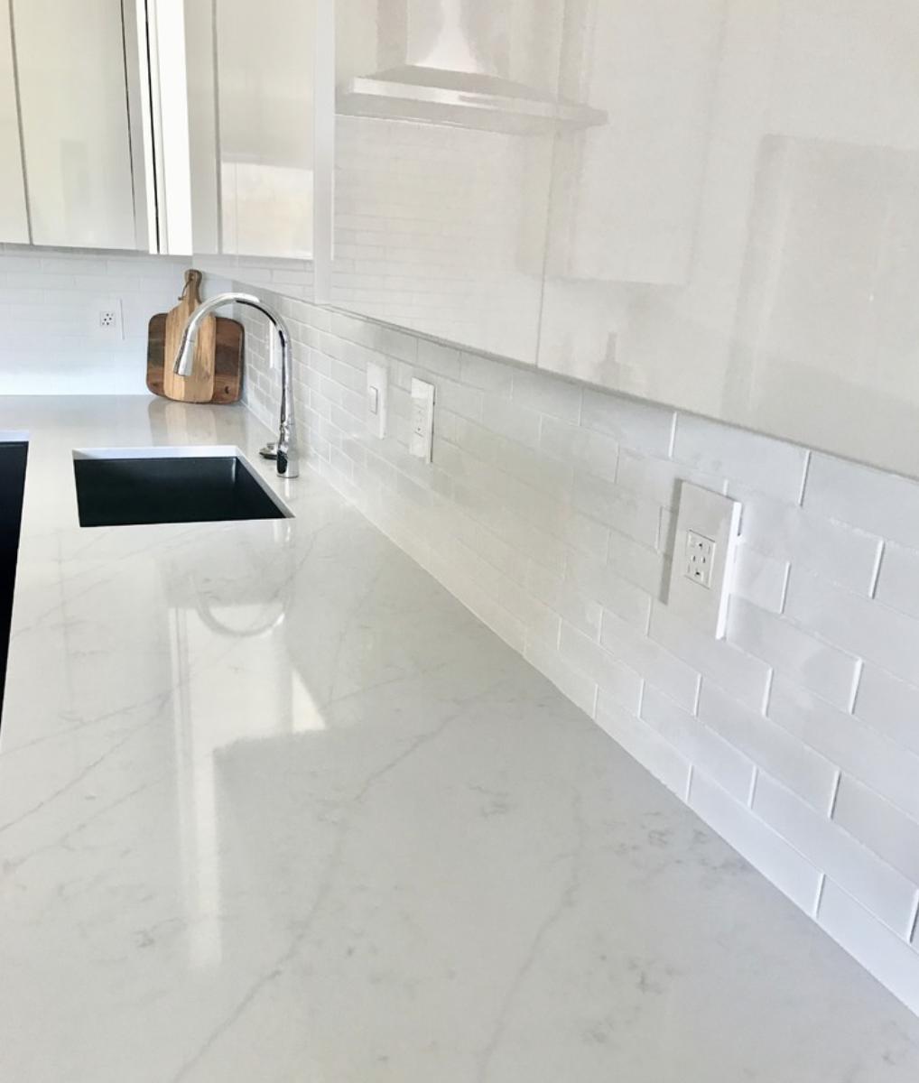 Comment Installer Un Comptoir De Cuisine color suggestions for quartz kitchen countertops | comptoir
