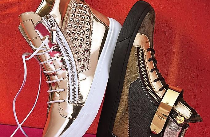 Photo of Giuseppe Zanotti sneakers from Saks.com