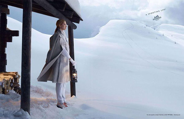 Hermes fall 2013 advertising campaign