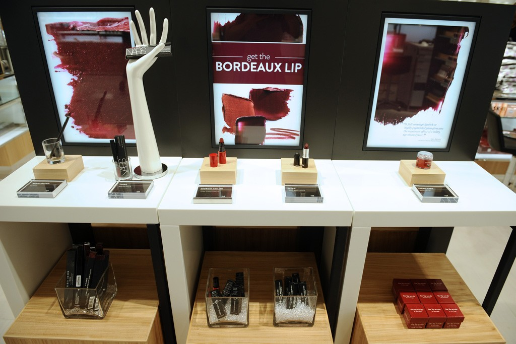 Trend Category display at Nordstrom.  Photo by Stefanie Keenan for WWD.