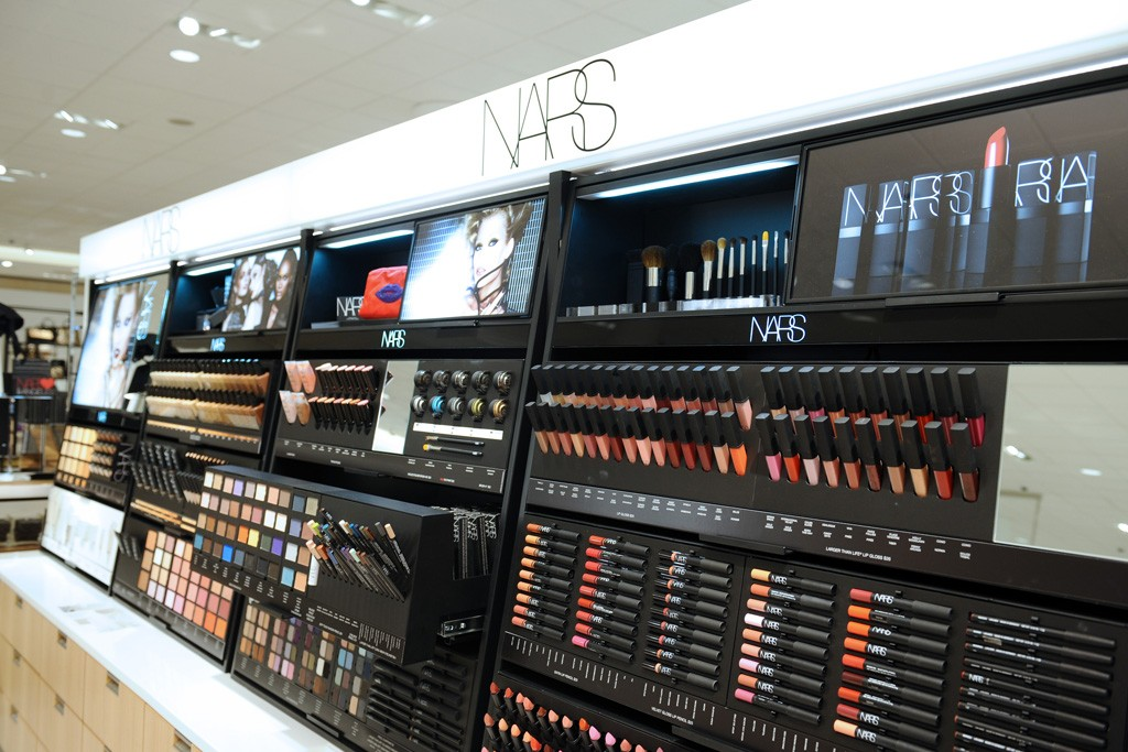 Nordstrom's beauty department.  Photo by Stefanie Keenan for WWD.