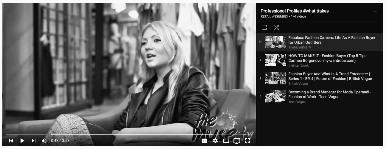 WATCH |  See what it's like to be a fashion buyer at one of the globe's best retailers .
