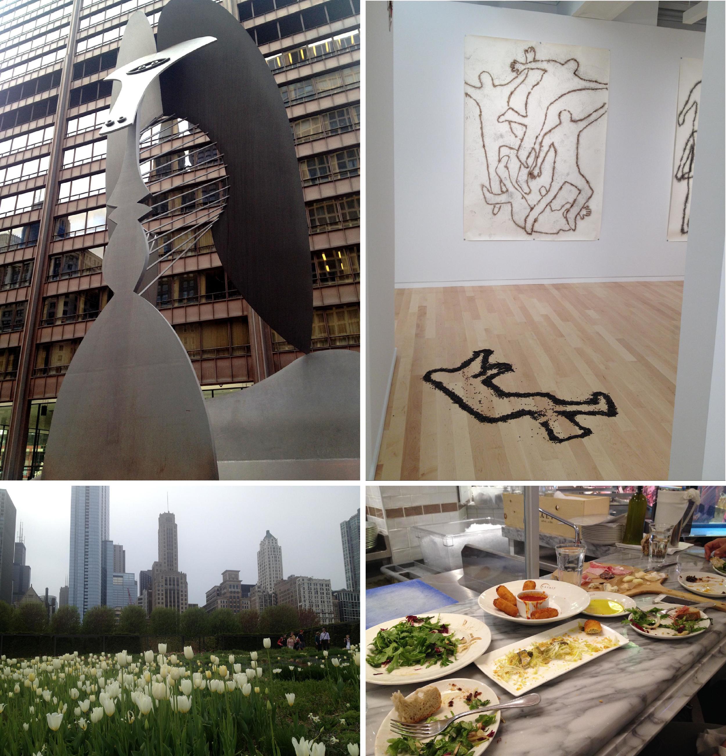 Chicago • Picasso,Miller & Shellabarger, EATaly, Millennium Park