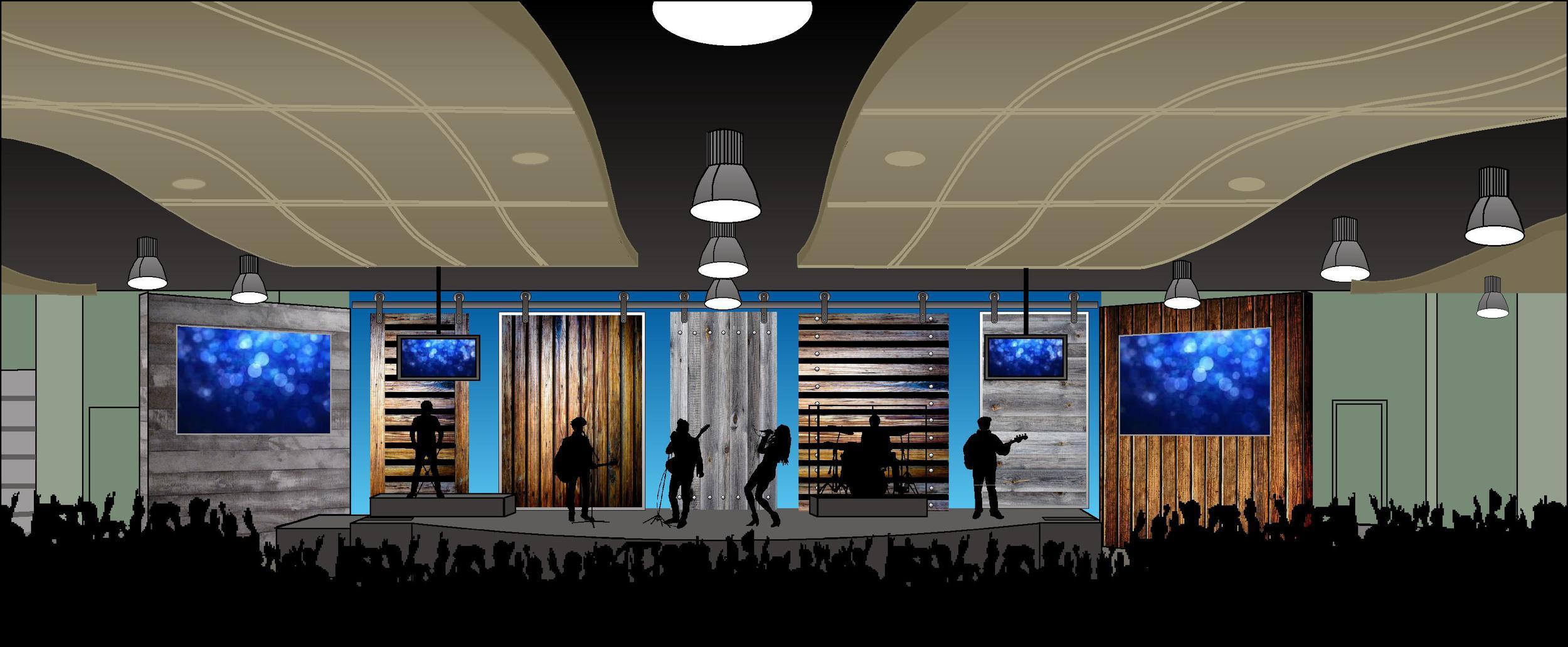 Influence Church Worship Center Design/Installation
