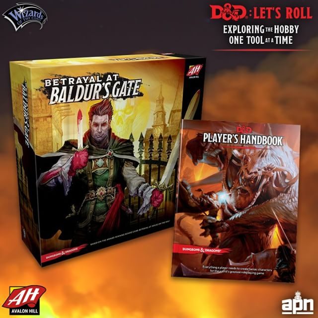 Let's look at another @dndwizards board game that makes a great entry point to 5th Edition! . A Taste of Dungeons: One of the key experiences of Dungeons & Dragons is revealing dungeons, caverns, and keeps bit by bit as you explore - never knowing what might come around the bend! Betrayal at Baldur's Gate by Avalon Hill Games mimics this experience very well as players slowly reveal the city and its sewer system turn by turn and face the horrors that lurk within, picking up magic items along the way. .@dndwizards @wizardsofthecoast #avalonhillgames #boardgames #boardgaming #boardgame #bgg #boardgamegeek #betrayalatbaldursgate #dnd #dungeonsanddragons #dndboardgame #boardgamenight #phb #playershandbook #letsroll #dndletsroll #gaming #games #game #gamer #dndfan