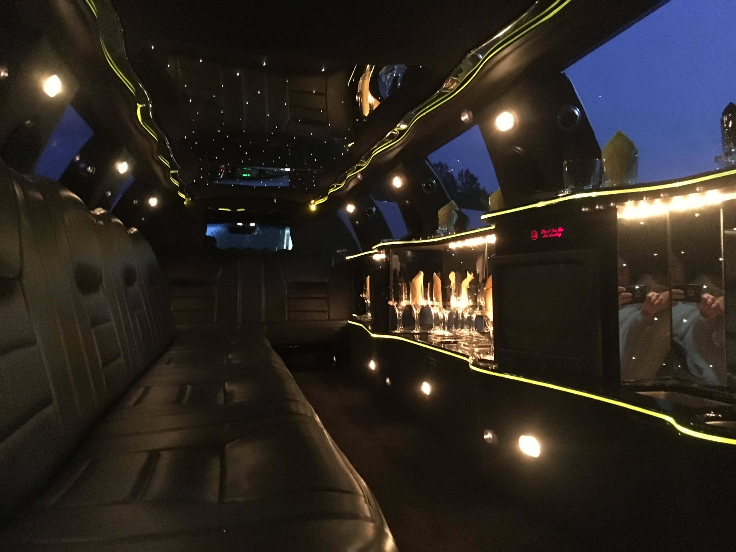 FTS Limousine - Sapphire Interior