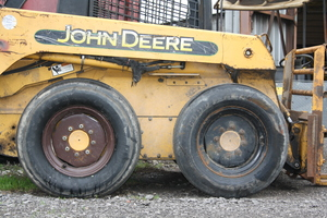 John Deere 240 Skid Steer Loader   We sell 35x12x18- 22ply used Aircraft Tires.  These tires have standard made 6 or 8-Hole Rims.  We also have many more sizes available.
