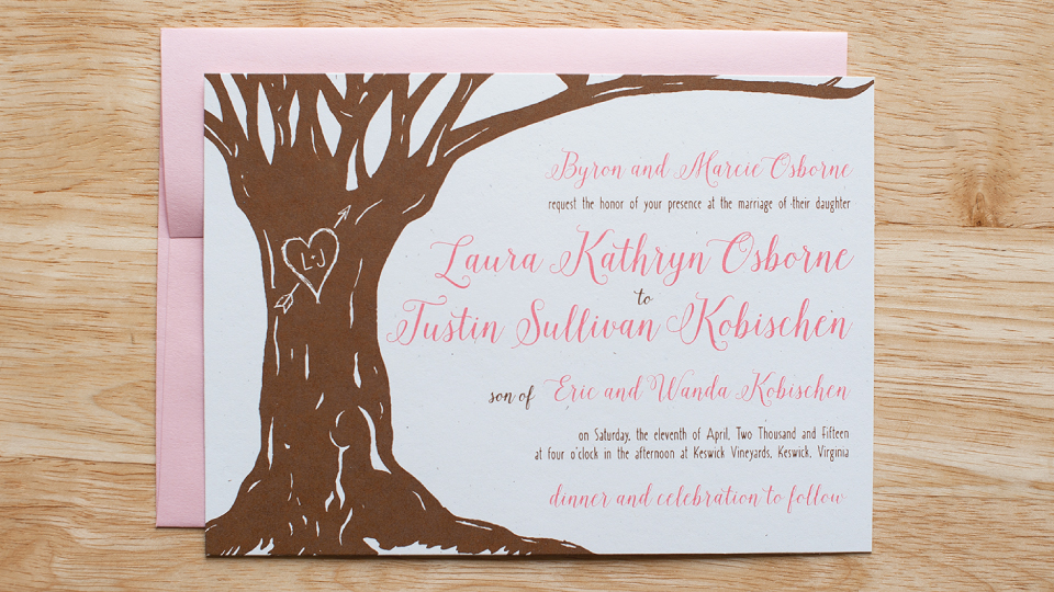 Laura & Justin Wedding Stationery