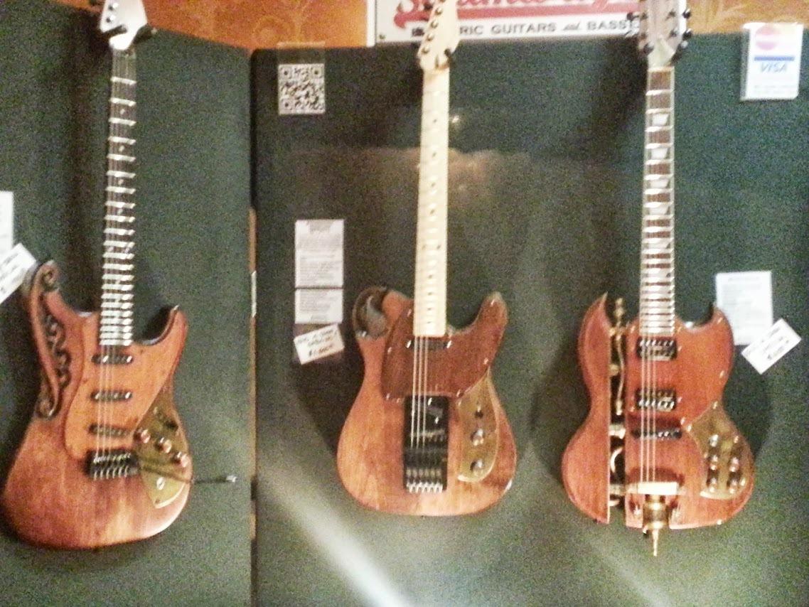 Steampunk guitars