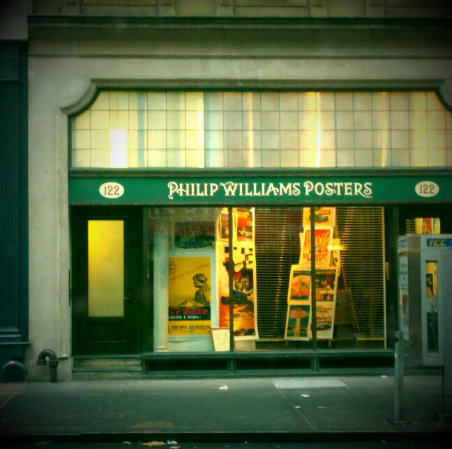 Philip Williams Posters at 122 Chambers St., New York