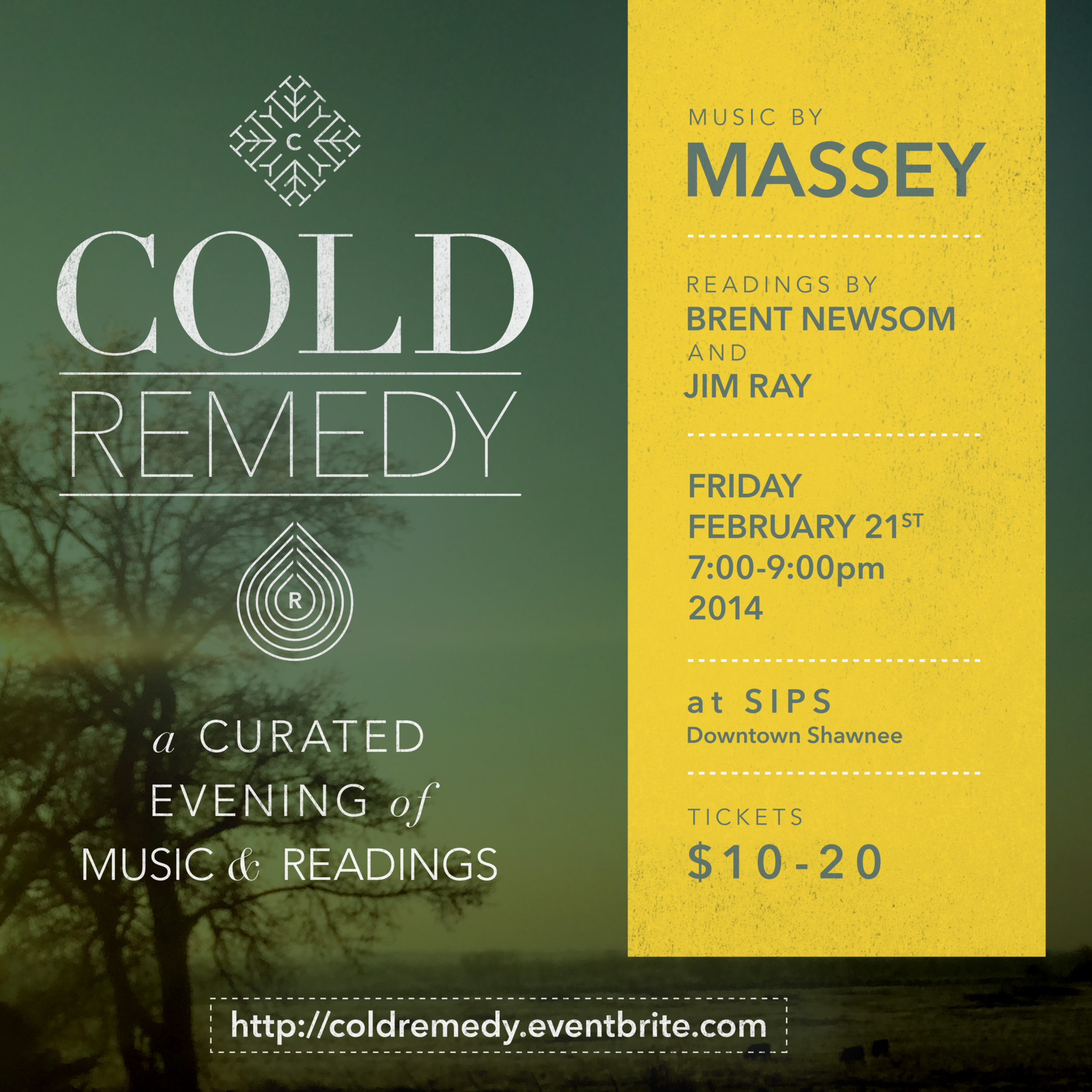 Cold Remedy promotional poster for around-town distribution