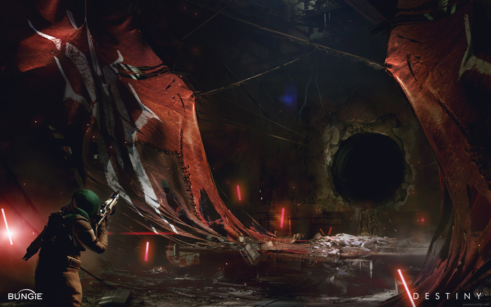 Destiny Environment Concept Art