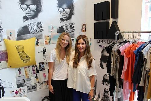 Sophie St-Onge,   founder of  Mini & Maximus    , and   Ana Carini, October 2012