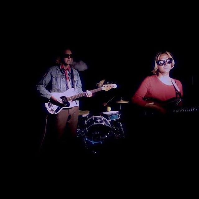 """Out  this week our new music video for """"secret magazines (walk away) a song recorded by Calvin Johnson of @krecs at @dubnarcstudio look for it on @brgrtv and  @burgerrecords4life . Shot and edited by William sipos additional 16 mm by @paranoidofblondes"""