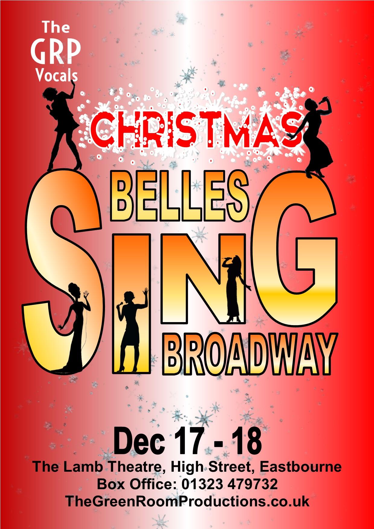 Christmas Belles Sing Broadway