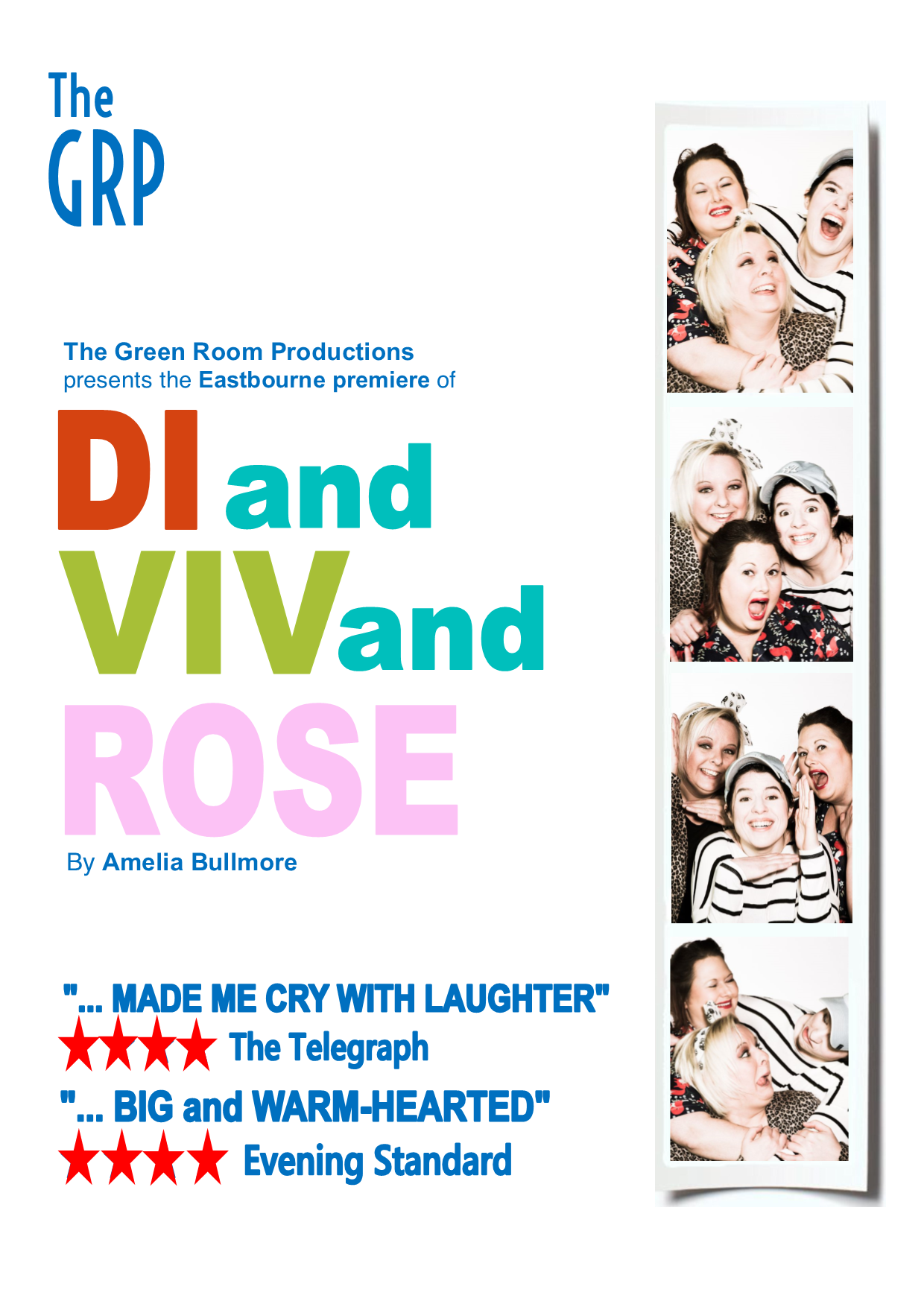 Di and Viv and Rose - The Green Room Productions, Eastbourne