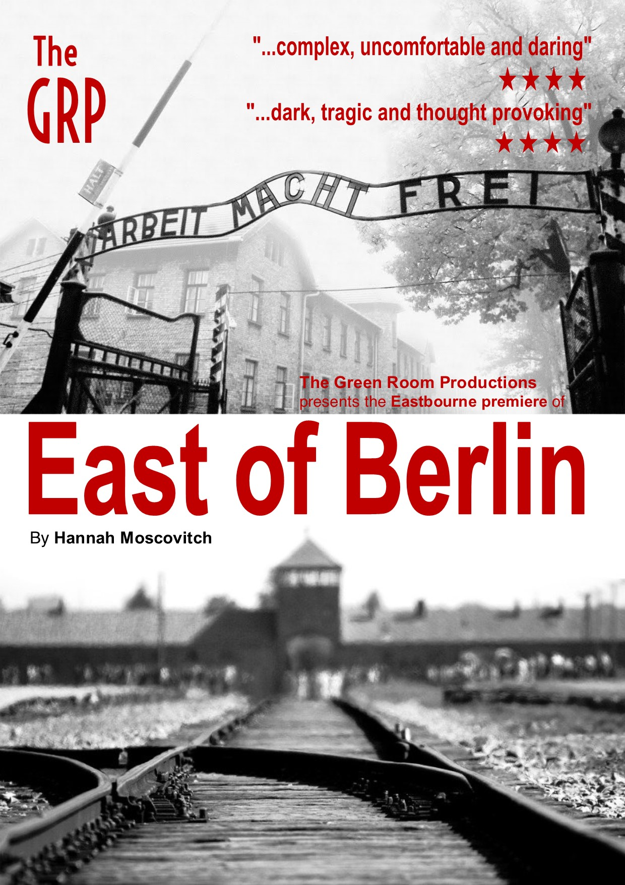 East of Berlin - The Green Room Productions, Eastbourne