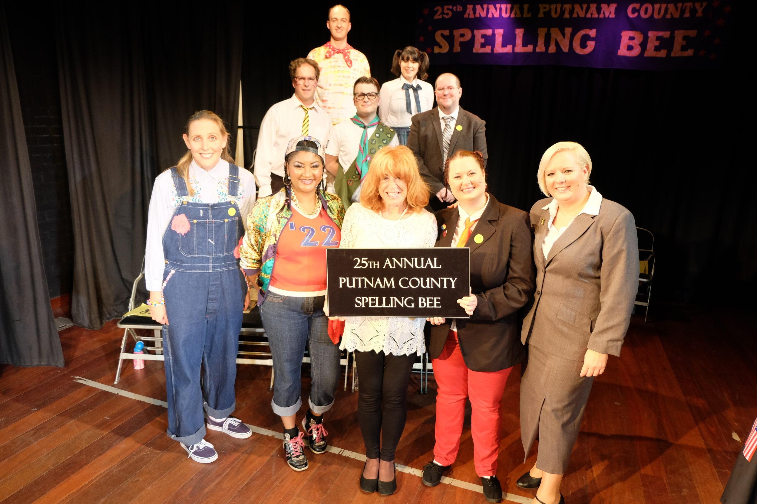 with guest speller Lynda La Plante