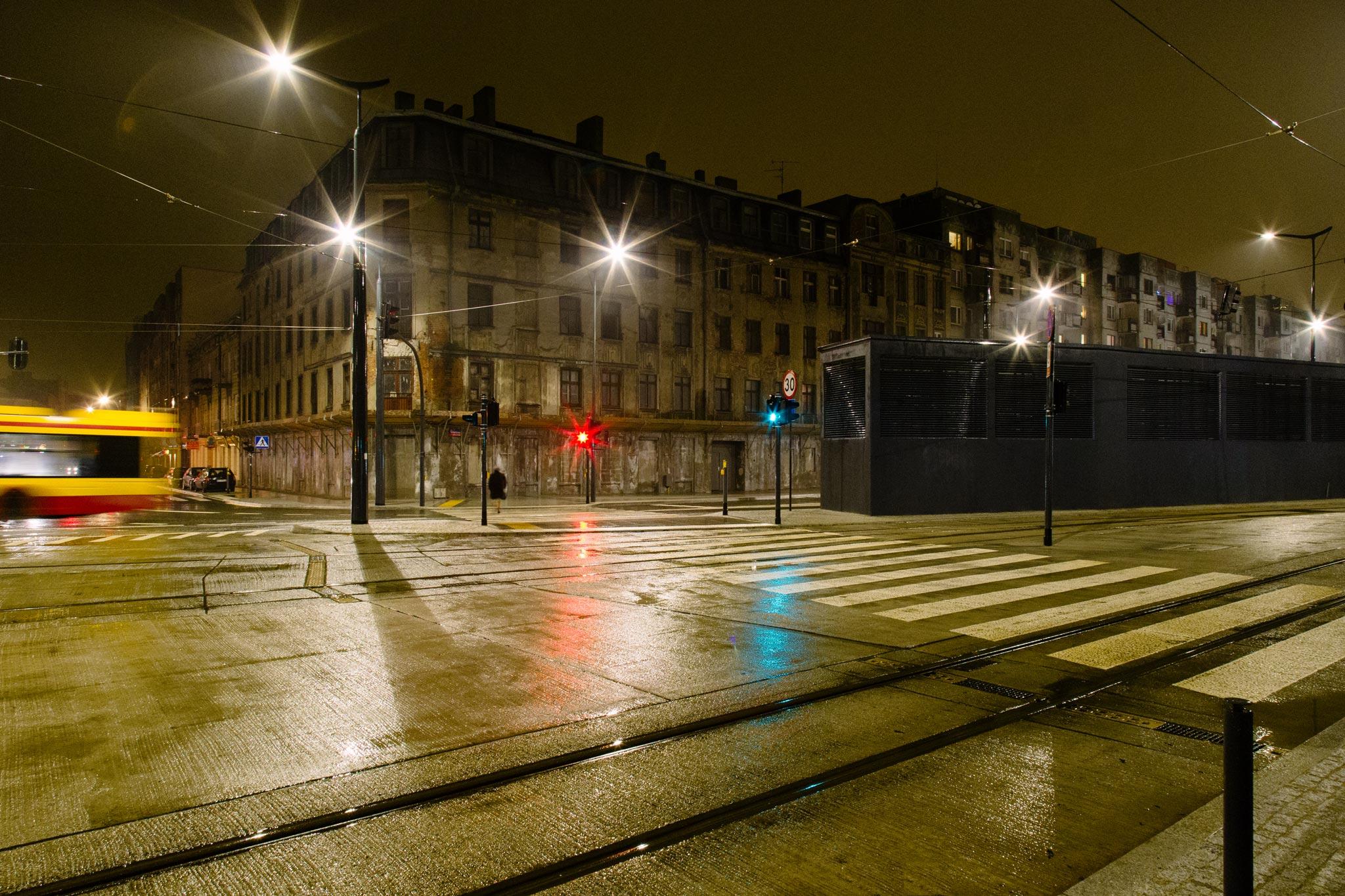 LodzRainyStreet