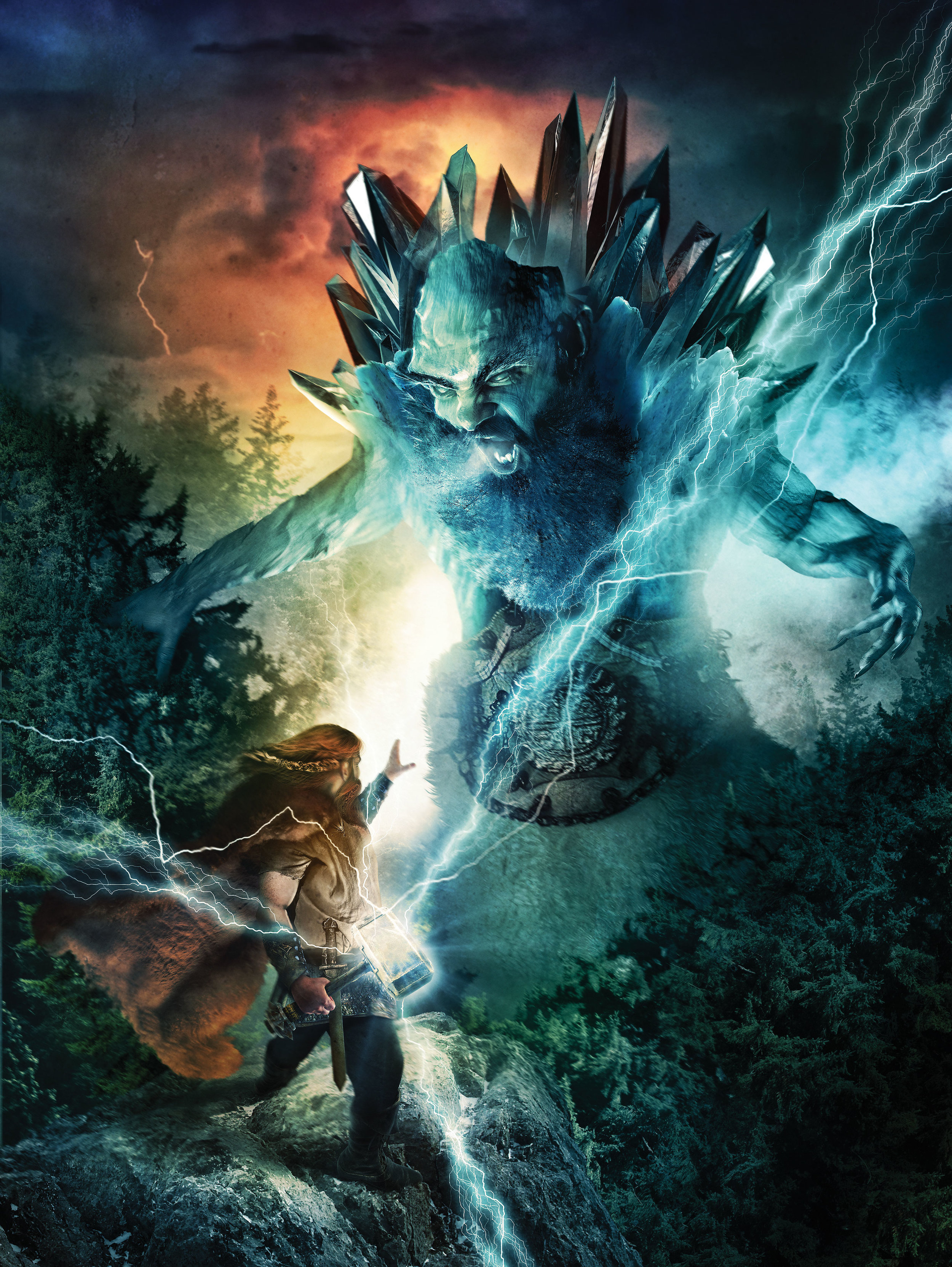 Thor Vs. The Frost Giant