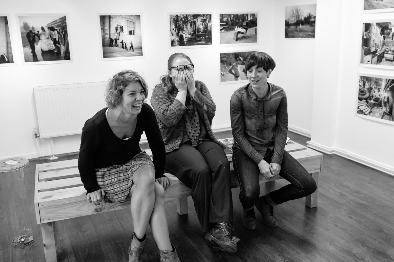 Alexandra Frankewitz, TFG's own Claire Kern and Valentine Pignet.
