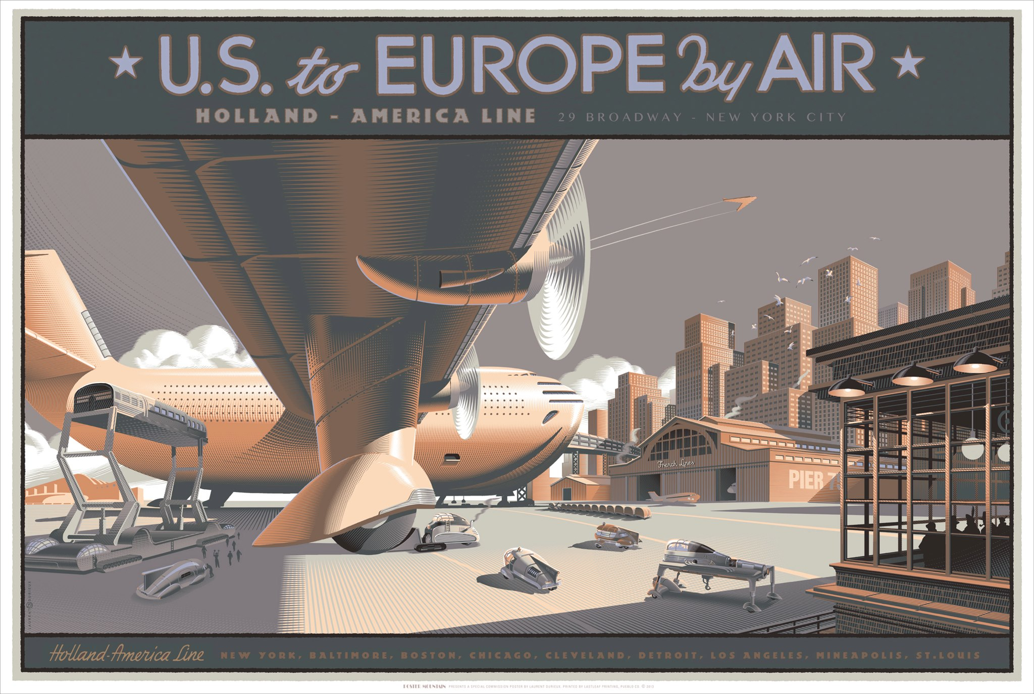 US to EUROPE by AIR commissioned by PBT in 2013