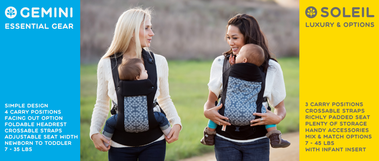 Soleil Beco Baby Carrier vs Beco Gemini