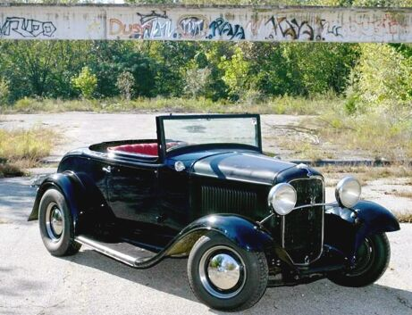 '32 Ford Right Hand Drive