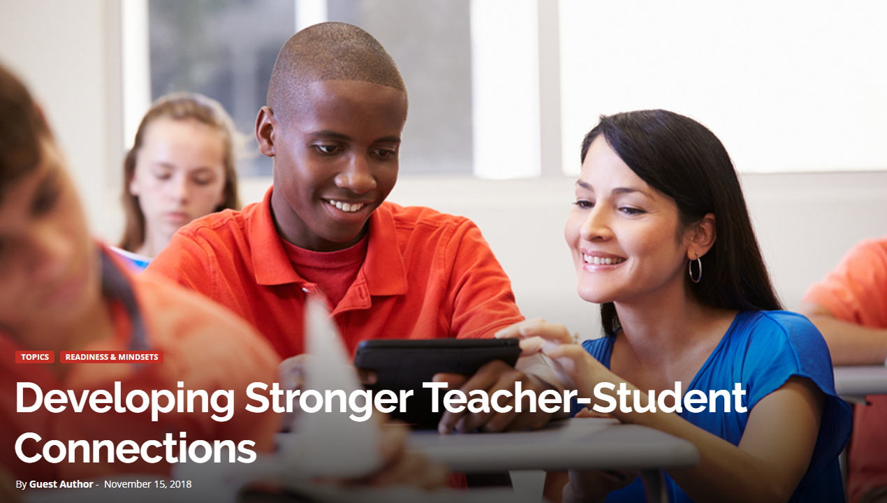 Developing Stronger Teacher and Student Connections