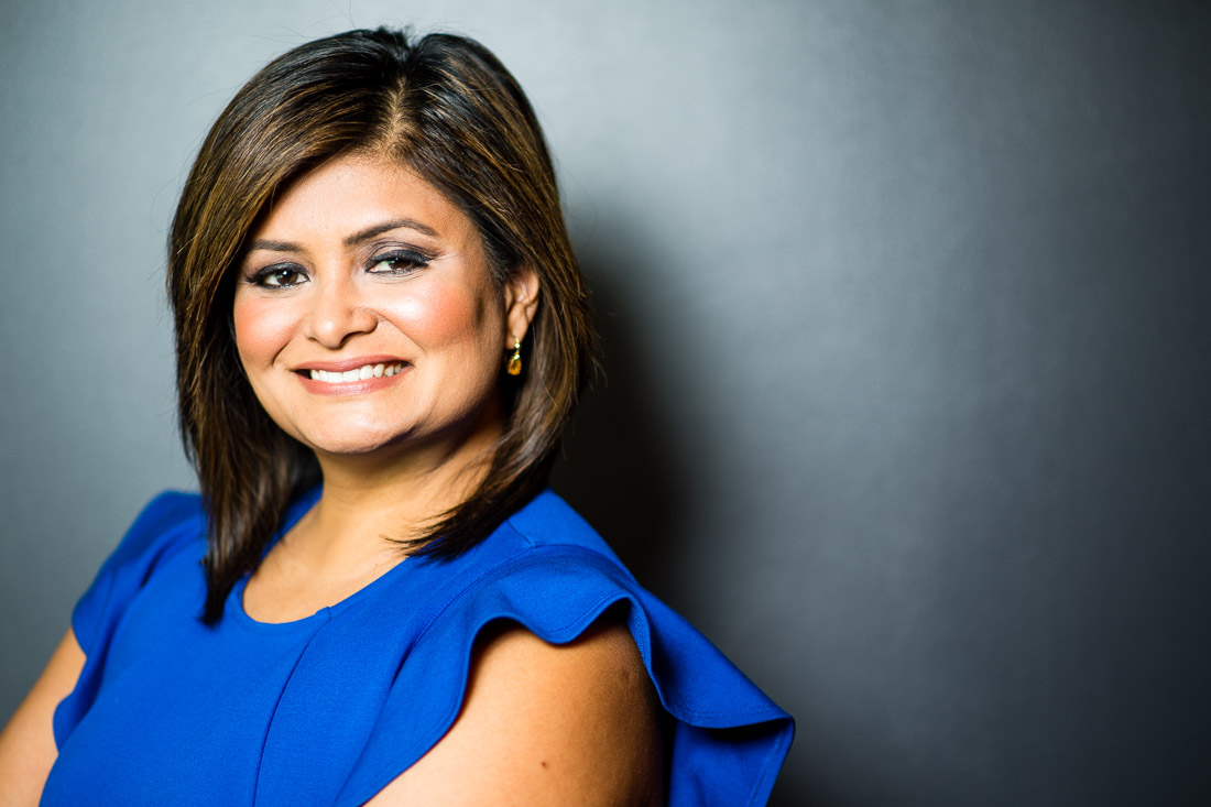 Speaker Joya Dass smiling business headshot NYC