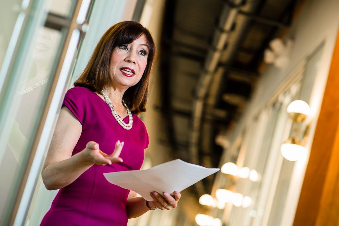 Diane DiResta speaker author branded lifestyle portrait