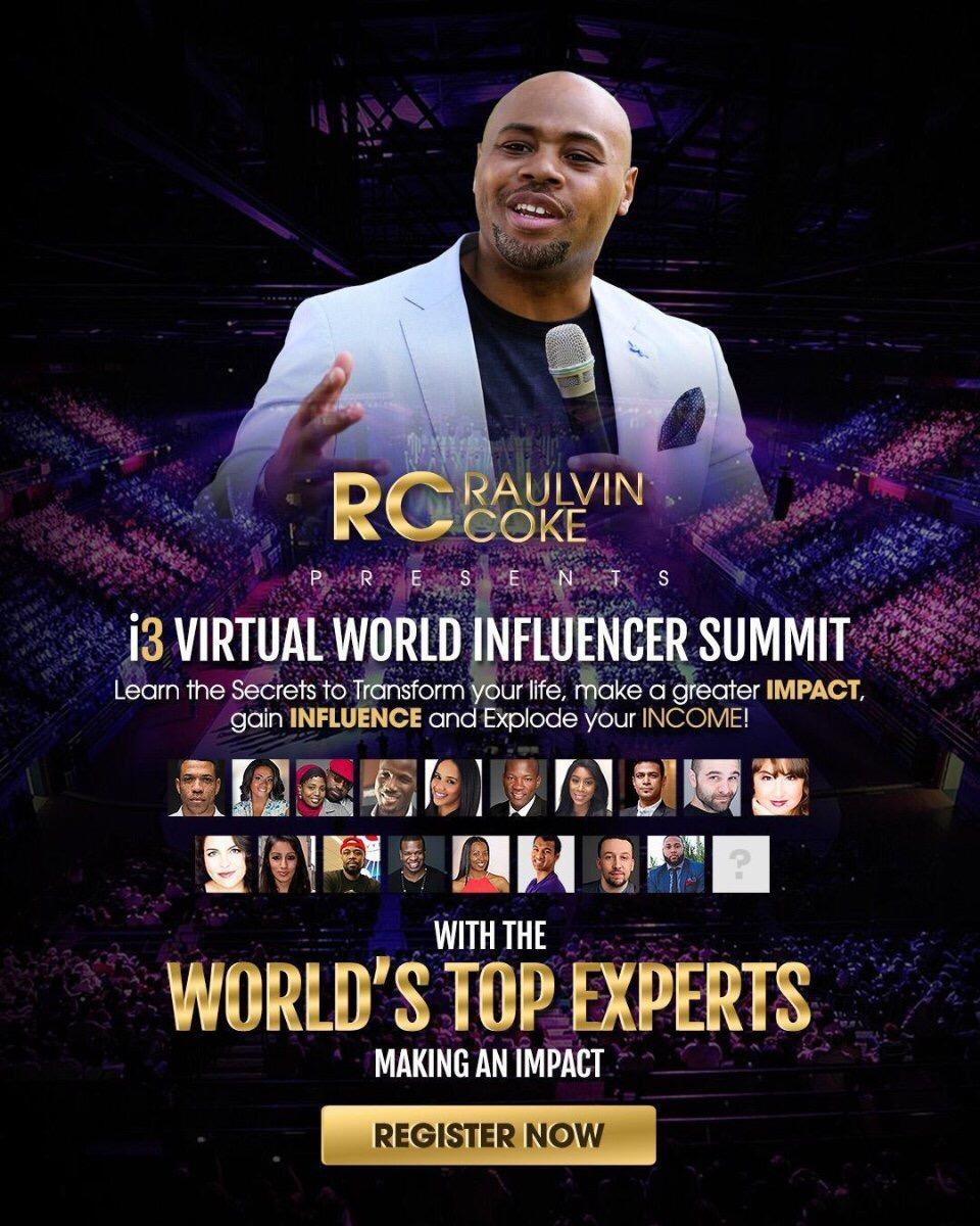 coach Raulvin Coke I3 Virtual World Summit