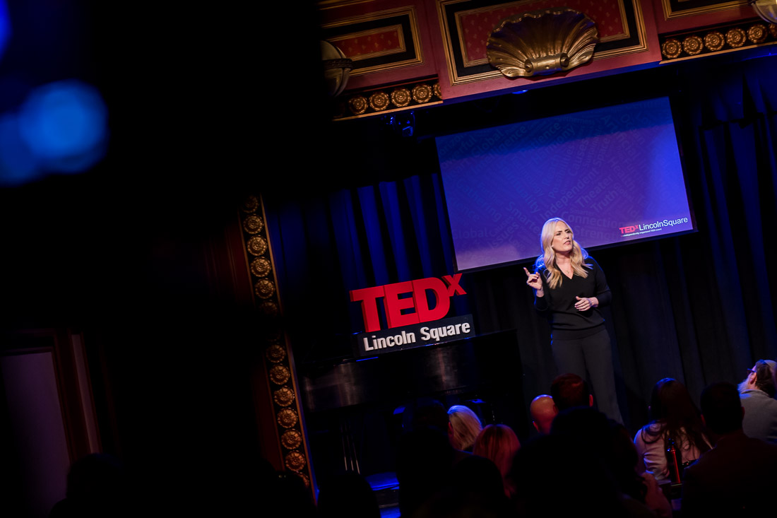 NYC Branded Lifestyle Portraits TEDxLincolnSquare Speaker Lolly Daskal