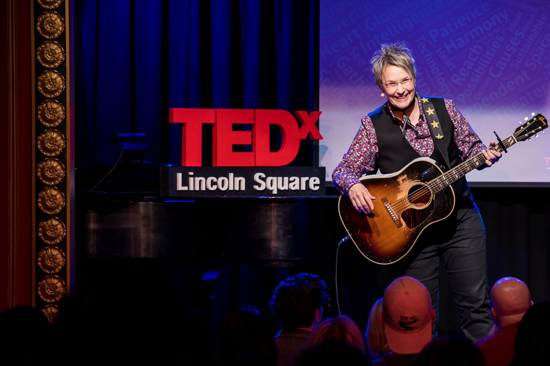 NYC Branded Lifestyle Portraits TEDxLincolnSquare Speaker Mary Gauthier