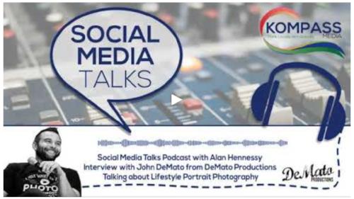Branded Lifestyle Portrait Photographer John DeMato on Kompass.IO Podcast