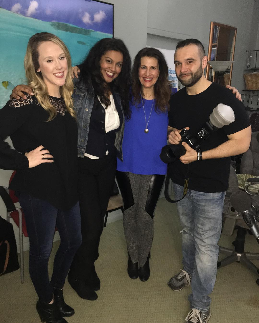 NYC Branded Lifestyle Portrait Photographer John DeMato Productions on FOllowMe Friday with Joan and Priya