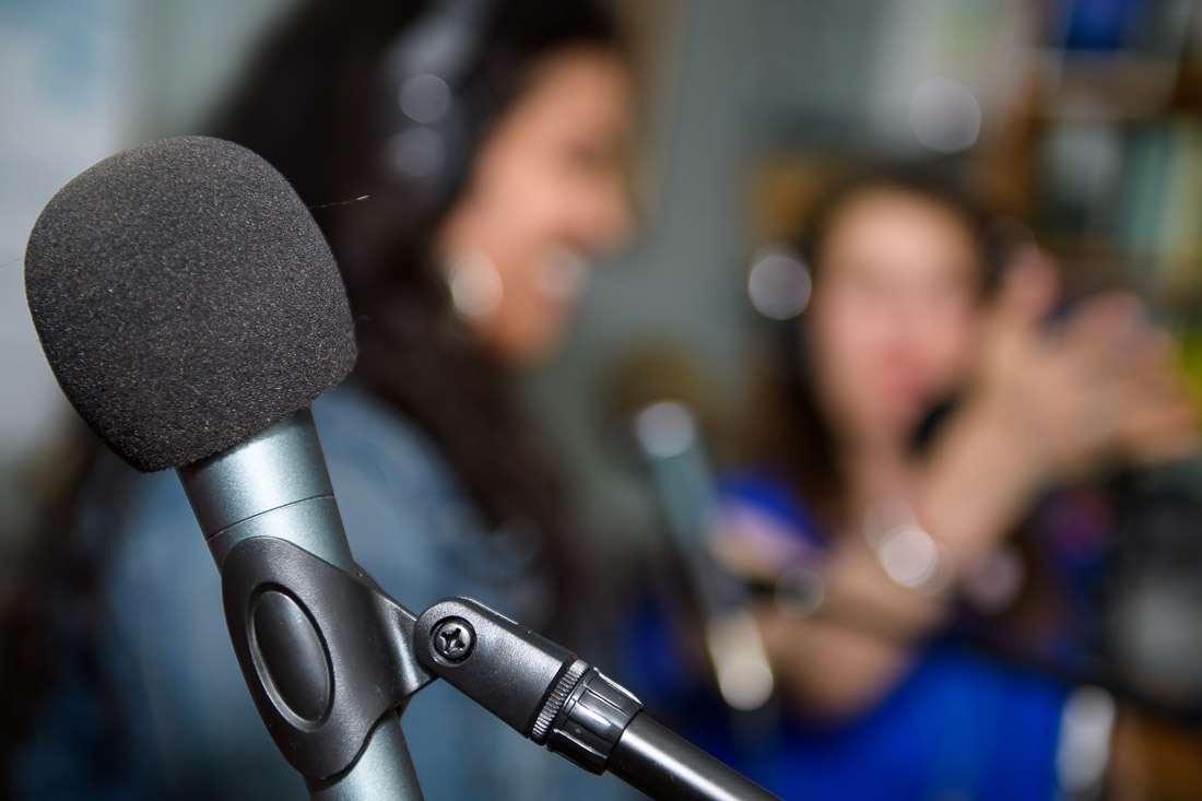 NYC Branded Lifestyle Portrait FollowMe Friday photo of microphone