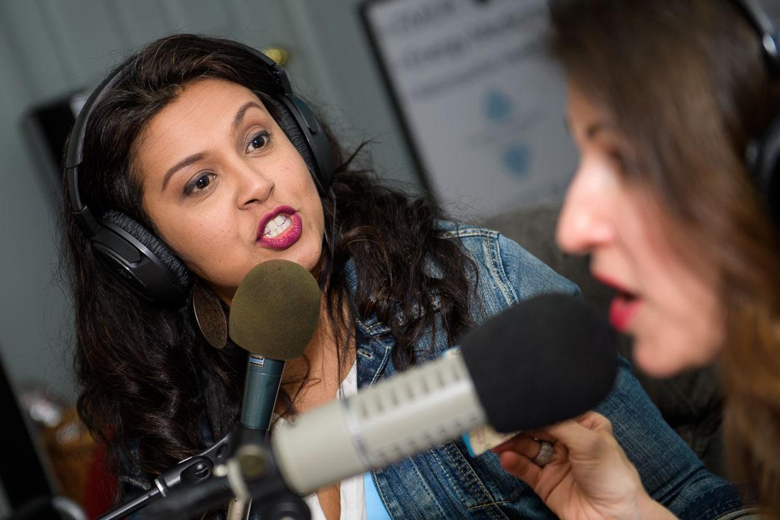 NYC Branded Lifestyle Portrait FollowMe Friday Priya Joan talking