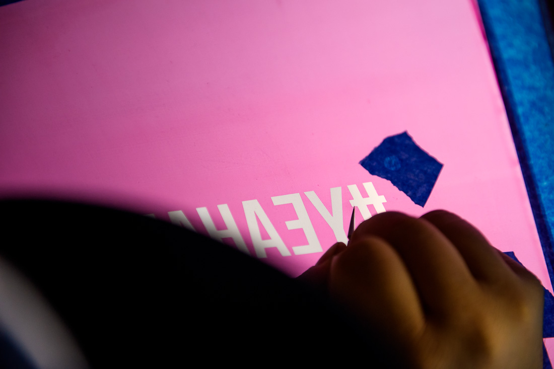 NYC branded lifestyle portraits #yeahabsolutely cleaning up screen edges