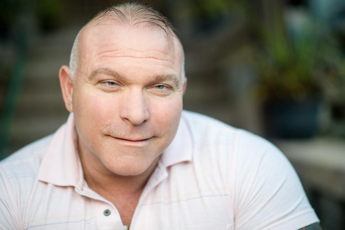 NYC Branded Lifestyle Portrait Angelwatch Dave Vitalli headshot slight smile