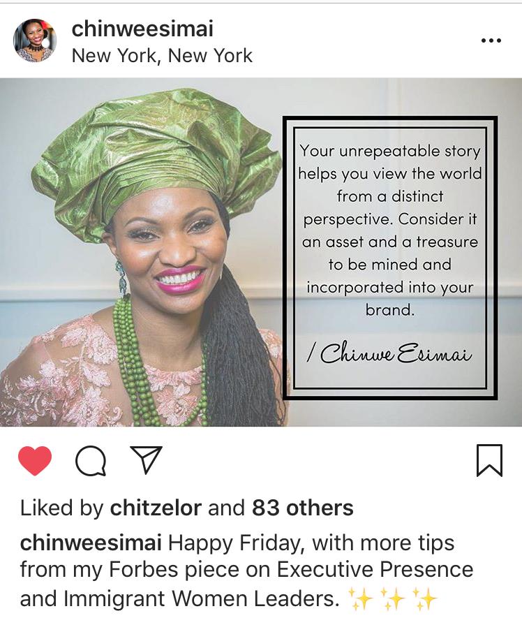 branded lifestyle portrait Chinwe Esimai standard portrait