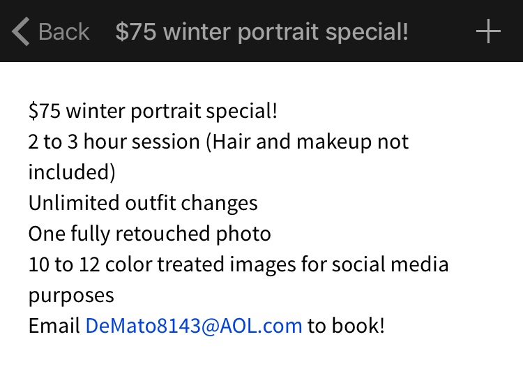 DeMato+Productions+Winter+Portrait+Special+2014