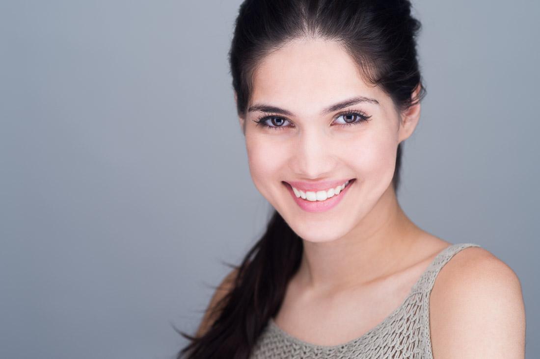 NYC Headshot linkedin portrait Cami smiling