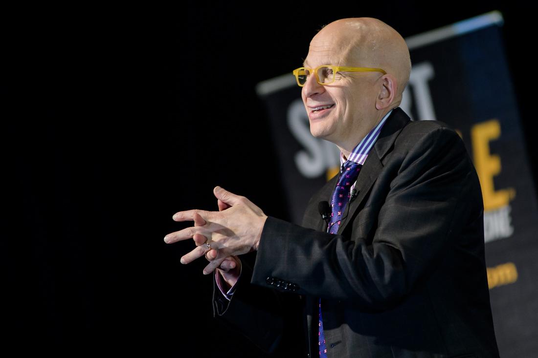 NYC Branded Lifestyle Portraits speaker author Seth Godin keynote